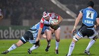Ulster grab points at Scotstoun to top Pool
