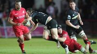 Dragons get past Edinburgh with ease