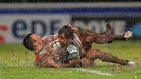 Biarritz battle the elements to beat Connacht
