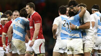Argentina spring surprise against Wales