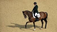 Dwyer lets lead slip in Paralympics dressage Freestyle final