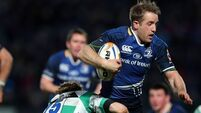 Five-try Leinster move closer to second place