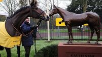 Collett impressed by 'amazing' Kauto Star