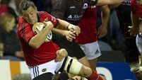 Munster hold on for opening win at Edinburgh