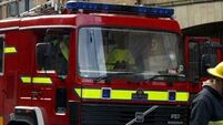 Hospital patients evacuated after roof blaze
