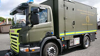 Bomb disposal team make Athy device safe