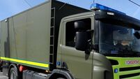 Bomb disposal team make safe viable device
