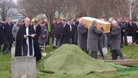 Hundreds attend 'Facebook funeral' for a man they never met