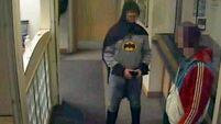 Who is this masked man? Police baffled as 'Batman' hands over suspect