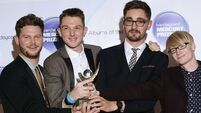 Alt-J celebrate Mercury Music Prize win