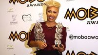 Emeli over the moon with Mobo hat-trick