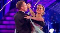 Van Outen shines on Strictly