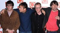 Blur named Best Live Act at Q Awards