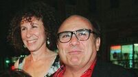 DeVito's wife 'walked over his wandering eyes'