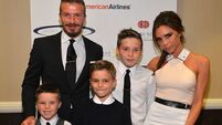 Rain forces Beckhams to cut short Maldives getaway