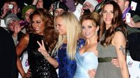 Spice girls unite as musical opens