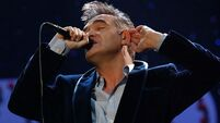 Morrissey determined to continue tour after illness