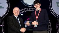 Charlie takes Teagasc award at BT Young Scientist and Technology Exhibition 2019