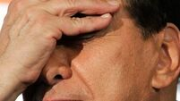 Berlusconi faces crucial vote  amid protests