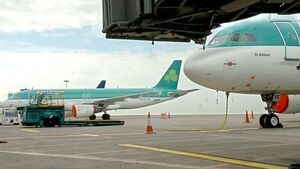 Shares triple Aer Lingus chief pay