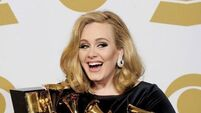 Pregnant Adele is 'over the moon'
