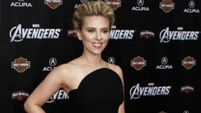 On the red carpet: Johansson, Huntington-Whiteley, Stefani and Paltrow