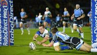 Warriors in control despite gutsy Connacht performance