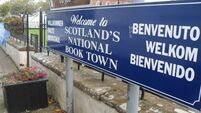 A good sign for books: the village dedicated to them