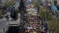 Thousands protest against austerity