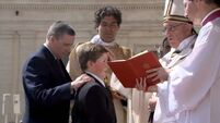Cork kids reflect on Papal Confirmation in Vatican