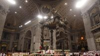 Rome gets ready for expectant masses