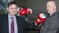 Councillors' charity clash  'will be like Ali vs Frazier' bout