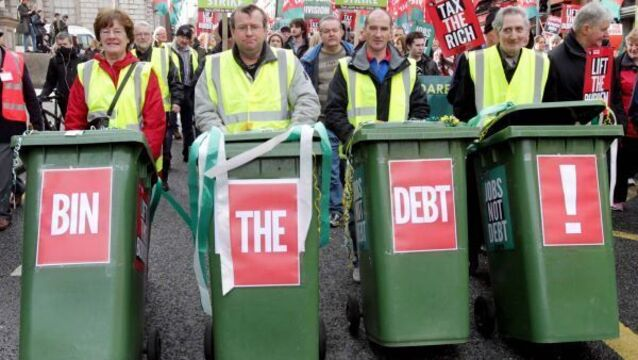 Unions: Keep protesting against debts