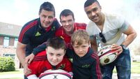 Duo show Munster stars they can more than haka it