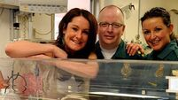 Mum resuscitated own baby born 13 weeks early