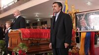 World leaders pay respects to Chávez at funeral