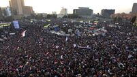 Deaths in Egypt on anniversary of uprising