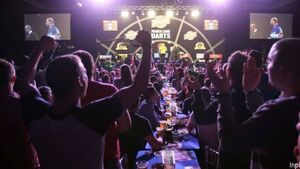 O2 proves madhouse for darts