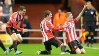 McClean sets Sunderland on way to crucial victory