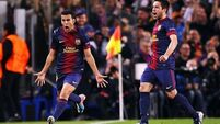 Pedro to the rescue for battling Barca