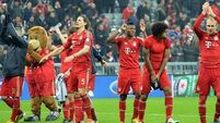 Alaba and Muller put Bayern on brink of last four