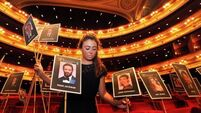 Hollywood stars pop in for early Bafta rehearsal