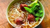 Jez's Vietnamese Noodle Soup with Pork Balls