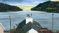 Venerable West Cork pier the subject of artistic licence