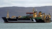 Dutch supertrawler detained off Tory Island