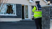 Seven men being questioned after family terrorised