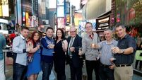 Prizewinners find a lotto bite in the Big Apple