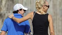 Rory McIlroy's game in the rough despite Caroline's support