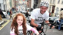 Ex-Ranger to cycle up hill 150 times to aid girl's fund