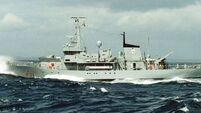 Special service for LÉ Emer's demise